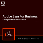 Adobe Sign for business license
