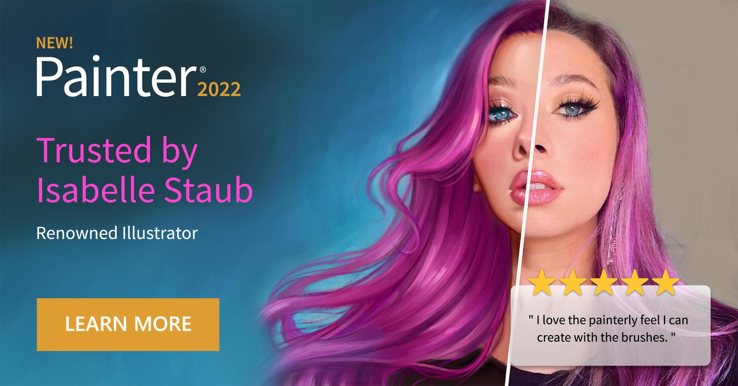 Corel Painter 2022 Banner